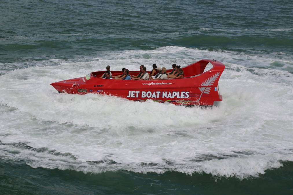 Jet Boat Eco Thrill Tour Attraction in Naples, Florida