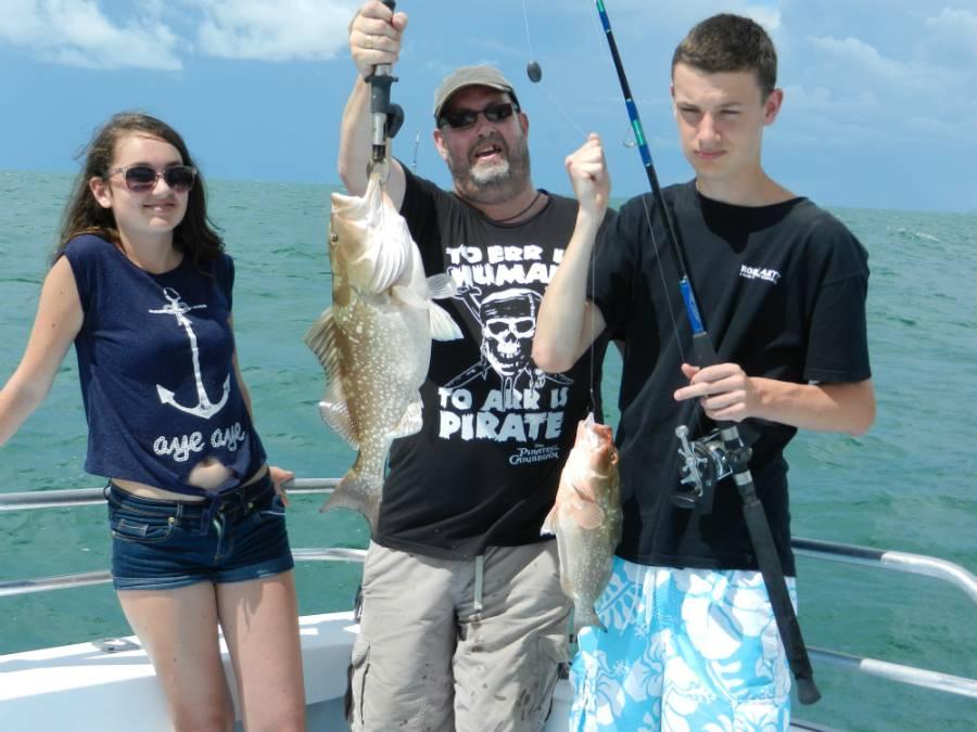 Charter Boat Fishing Options - Naples, FL